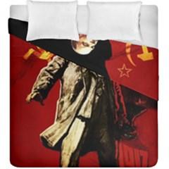 Lenin  Duvet Cover Double Side (king Size)