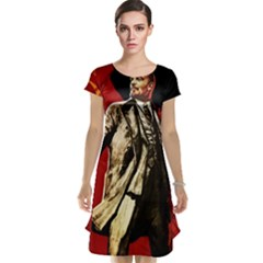Lenin  Cap Sleeve Nightdress