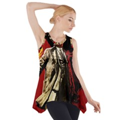 Lenin  Side Drop Tank Tunic