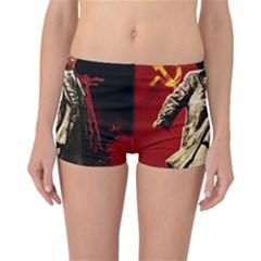 Lenin  Reversible Boyleg Bikini Bottoms
