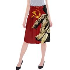 Lenin  Midi Beach Skirt