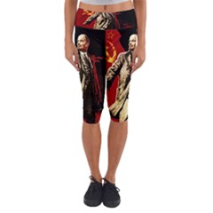 Lenin  Capri Yoga Leggings