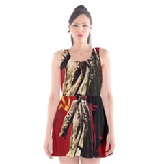 Lenin  Scoop Neck Skater Dress
