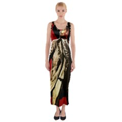 Lenin  Fitted Maxi Dress