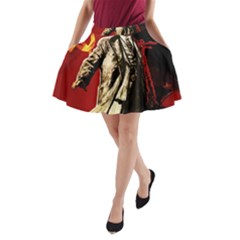 Lenin  A Line Pocket Skirt