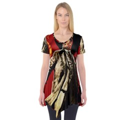 Lenin  Short Sleeve Tunic