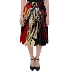 Lenin  Folding Skater Skirt