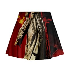 Lenin  Mini Flare Skirt