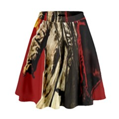 Lenin  High Waist Skirt