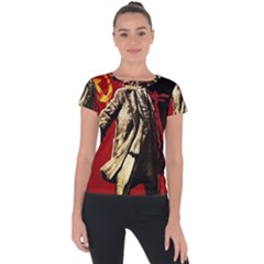 Lenin  Short Sleeve Sports Top