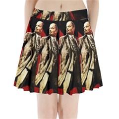 Lenin  Pleated Mini Skirt