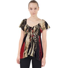 Lenin  Lace Front Dolly Top