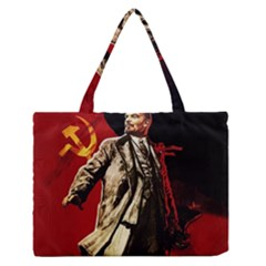 Lenin  Zipper Medium Tote Bag