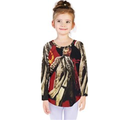 Lenin  Kids  Long Sleeve Tee