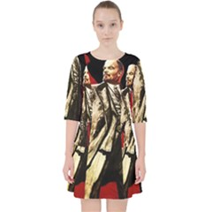 Lenin  Pocket Dress