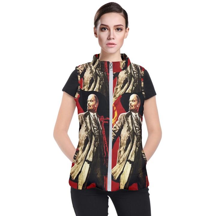 Lenin  Women s Puffer Vest