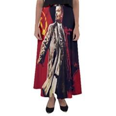 Lenin  Flared Maxi Skirt