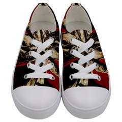 Lenin  Kids  Low Top Canvas Sneakers