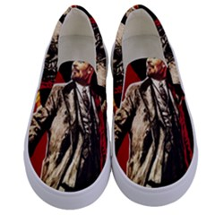 Lenin  Kids  Canvas Slip Ons