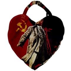Lenin  Giant Heart Shaped Tote