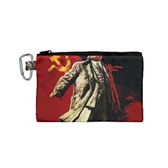 Lenin  Canvas Cosmetic Bag (small)