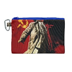 Lenin  Canvas Cosmetic Bag (large)