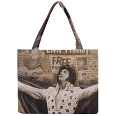 Vintage Elvis Presley Mini Tote Bag