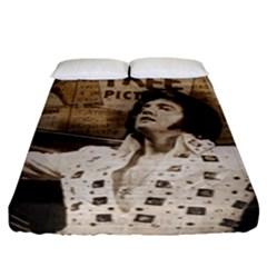 Vintage Elvis Presley Fitted Sheet (king Size)