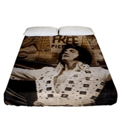 Vintage Elvis Presley Fitted Sheet (california King Size)