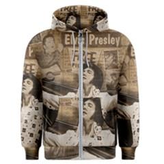 Vintage Elvis Presley Men s Zipper Hoodie