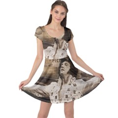Vintage Elvis Presley Cap Sleeve Dress