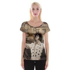 Vintage Elvis Presley Cap Sleeve Tops