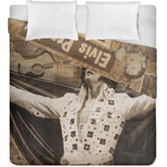 Vintage Elvis Presley Duvet Cover Double Side (king Size)