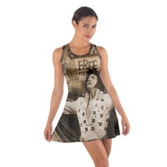 Vintage Elvis Presley Cotton Racerback Dress