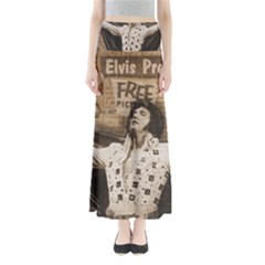 Vintage Elvis Presley Full Length Maxi Skirt