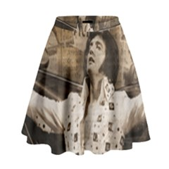 Vintage Elvis Presley High Waist Skirt