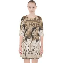 Vintage Elvis Presley Pocket Dress
