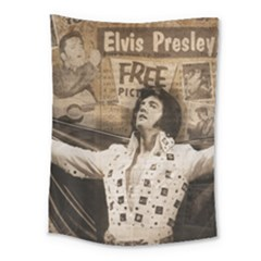 Vintage Elvis Presley Medium Tapestry