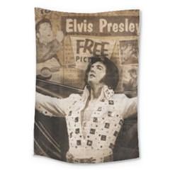 Vintage Elvis Presley Large Tapestry