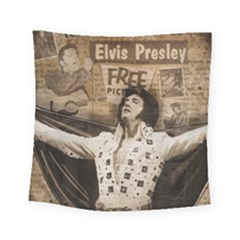 Vintage Elvis Presley Square Tapestry (small)