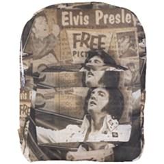 Vintage Elvis Presley Full Print Backpack