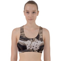 Vintage Elvis Presley Back Weave Sports Bra