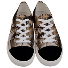 Vintage Elvis Presley Women s Low Top Canvas Sneakers