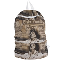 Vintage Elvis Presley Foldable Lightweight Backpack