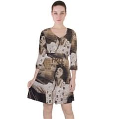 Vintage Elvis Presley Ruffle Dress