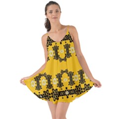 Ornate Circulate Is Festive In Flower Decorative Love The Sun Cover Up