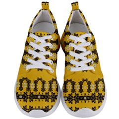 Ornate Circulate Is Festive In Flower Decorative Men s Lightweight Sports Shoes