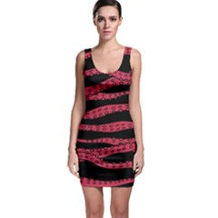 Blood Tentacles Bodycon Dress