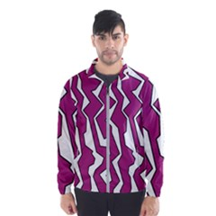 Electric Pink Polynoise Wind Breaker (men)