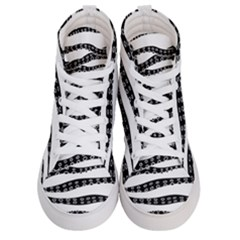 Hand Made Tentacle Women s Hi Top Skate Sneakers